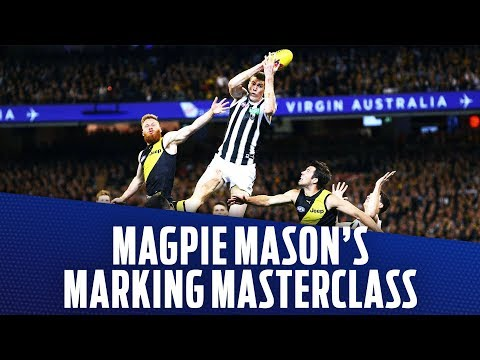 Magpie Mason's marking masterclass | Preliminary Final, 2018 | AFL