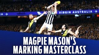 Magpie Mason's marking masterclass | Preliminary Final, 2018 | AFL