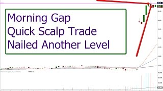 Morning Gap Trade makes for quick scalp and a SHAK