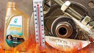 Petronas Syntium 7000 0W40 Jak skutecznie olej chroni silnik? 100°C