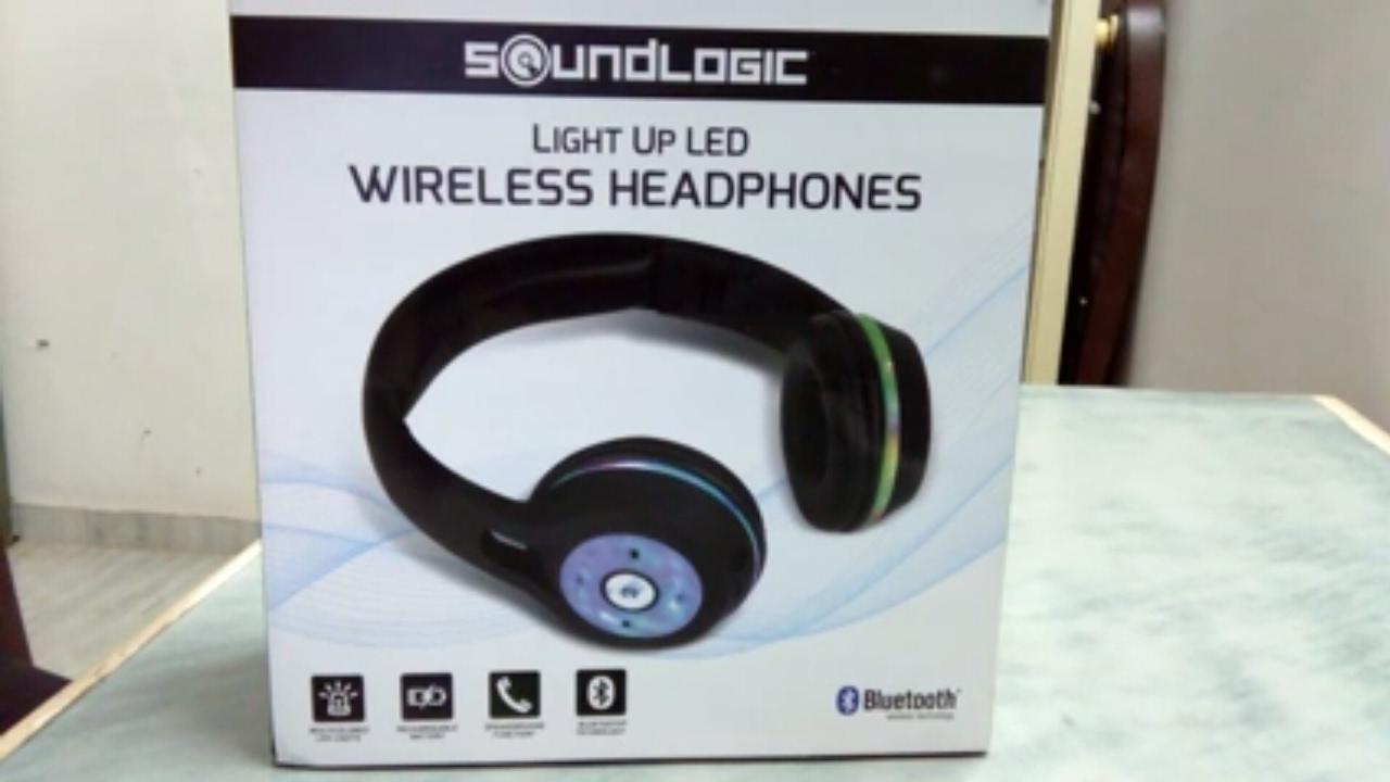 Soundlogic Wireless Bluetooth Headphones Youtube