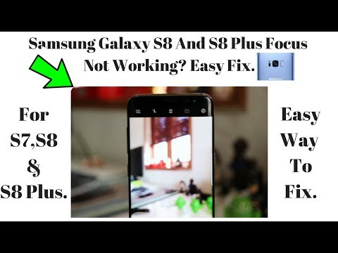aca648e64dda97 How to fix camera not focusing issue on Galaxy S7 ,S7 Edge And S8, S8 Plus  2018 - YouTube