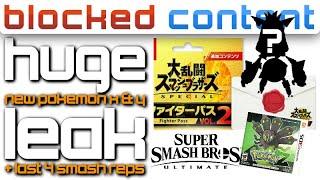 Interesting! LEAKED Pokemon Info REVEALS Games + Smash Ultimate FINAL FIGHTER Thoughts - LEAK SPEAK
