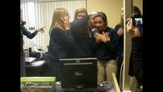 epiphany girls react to winning schools4all visit from justin bieber