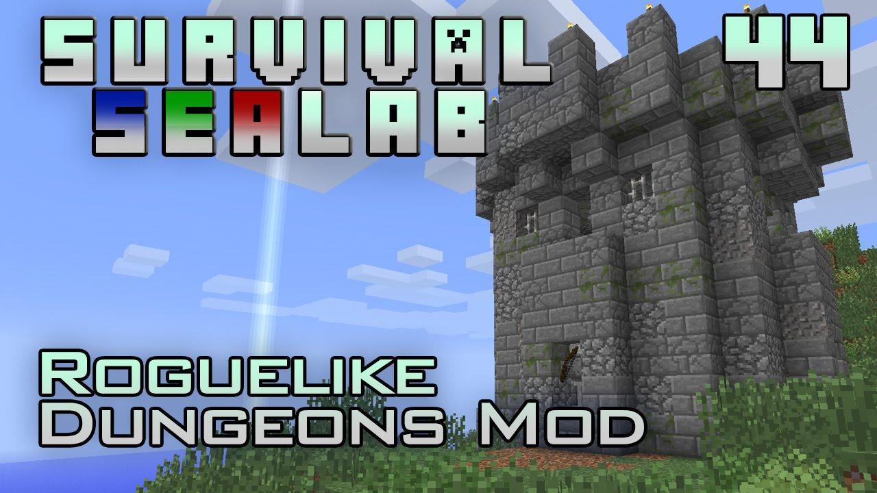 Dungeon Crawler Minecraft Survival Sealab 44