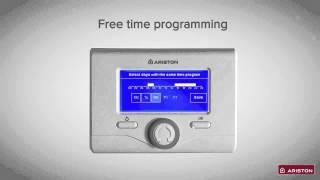 Ariston Sensys покрокова інструкція налаштування Вашого устройстваа