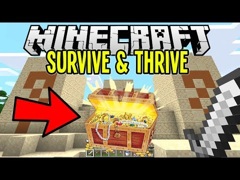 Minecraft | TREASURE HUNTING Tips & Tricks! | Minecraft Survival Let's Play Tutorial Ep 7