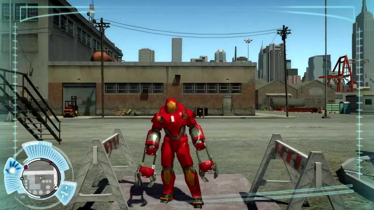 Мод Iron Man для GTA 4