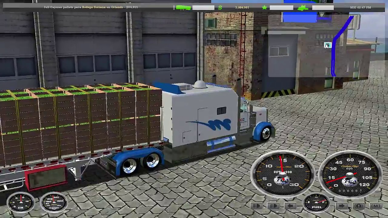 18 wheels of steel haulin fulloriginalespaol