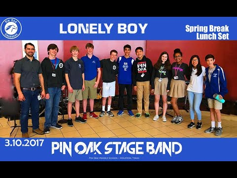 Lonely Boy (The Black Keys cover) - Pin Oak Middle School Stage Band