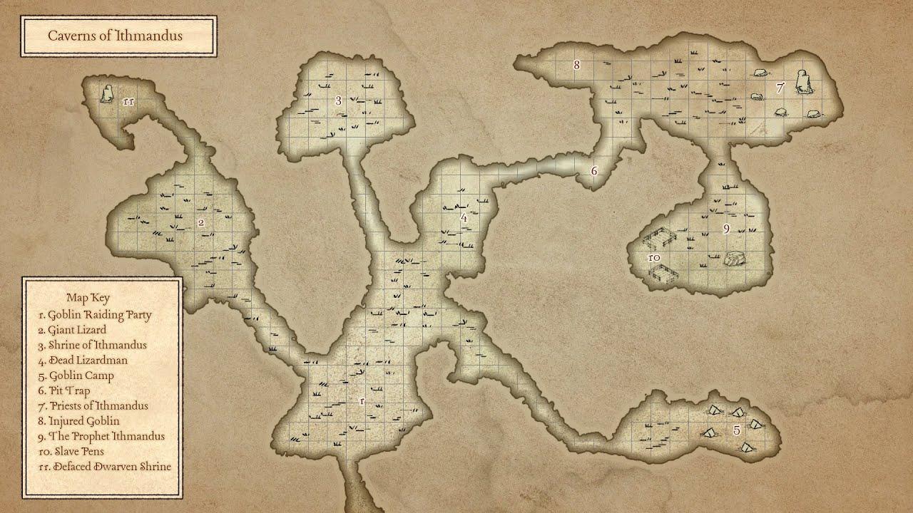 15 Minute D&D Maps - Wonderdraft Tutorial - Caverns of Ithmandus