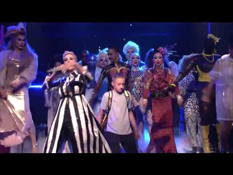 Katy Perry  'Dancing Backpack Kid' SNL