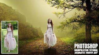 Dramatic Photo Art | Photoshop Manipulation Tutorial