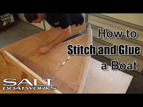 How to Stitch and Glue a Boat - How to Build a Boat Part 3