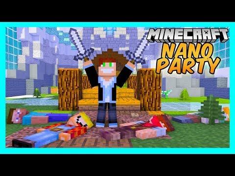 VERTEZ MISTRZ GLADIATORÓW! Minecraft Nano Party #11 /w Bobix