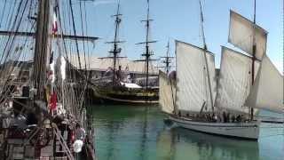 VOILIERS - 26.08.2012 - GRANVILLE - RASSEMBLEMENT VIEUX GREEMENTS - LE DIMANCHE A.M. (HD)m2ts