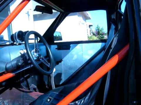 V8 S10 10 Point Roll Cage Avi Youtube