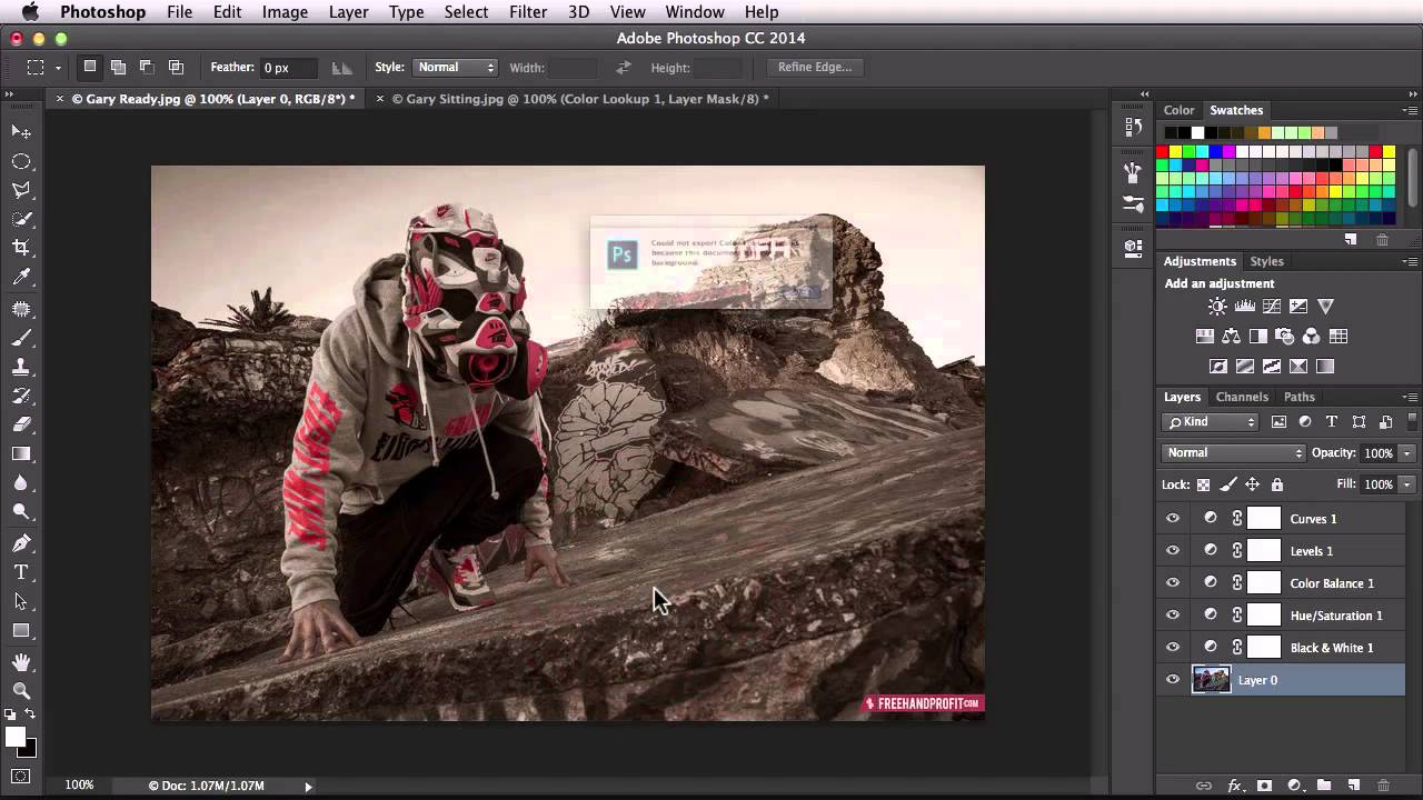 how to use luts in photoshop cc
