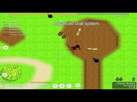 Game Maker Online Multiplayer Footage : AfterWars