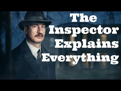 The Inspector Explains the Whole of An Inspector Calls for Grade 9