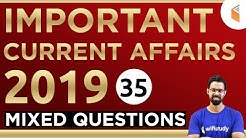 1:00 PM - RRB Group D 2019 | Current Affairs by Bhunesh Sir | Mix Questions (35)