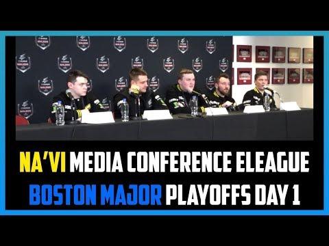 Press Conference: Na'Vi Boston Major 2018 Playoffs Day 1