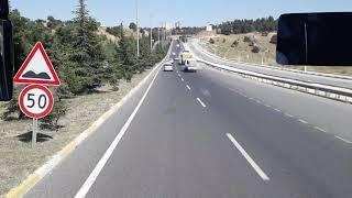Izmır yolu Uşak şehir merkez Ankara 08.temmuz 2019