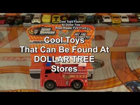 Cool Toys & Stuff Found At DOLLAR TREE #2 Haul Toy State Fire Truck HotWheelz 4 U