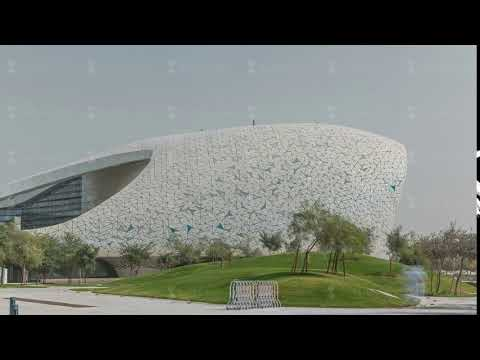 View of the Education City Complex timelapse launched by the Qatar Foundation in Doha