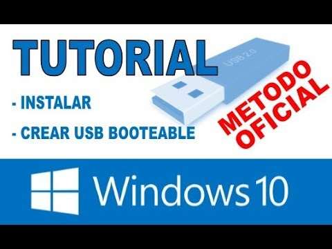 Instalar Windows10 Desde 0 Mediante USB, TOTALMENTE EXPLICADO