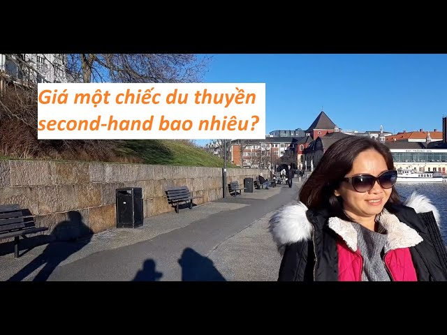 Bến du thuyền ở Stromstad Thụy Điển đẹp ngất ngây! SUPPER STROMSTAD HABOUR IN SWEDEN
