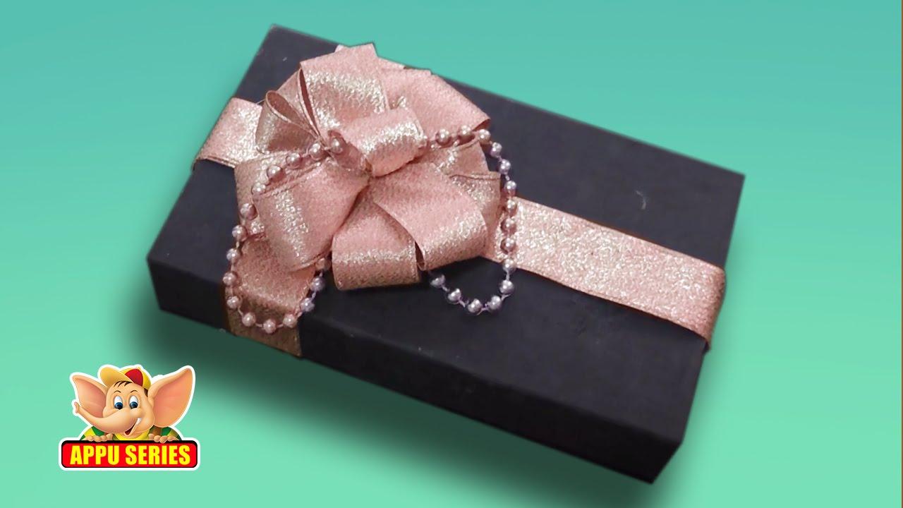 Arts crafts make a pretty gift box decor youtube negle Images