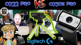 Logitech C922 Pro vs C930e Webcam Comparison!