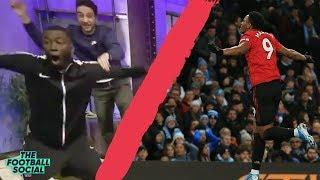 Man city 1-2 united   fan reaction ...
