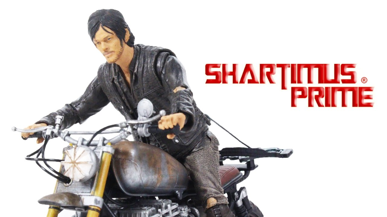 Mcfarlane walking dead series 6 daryl dixon action figure - Amc S The Walking Dead Daryl Dixon With Custom Bike 5 Inch Scale Mcfarlane Toys Action Figure Review Youtube