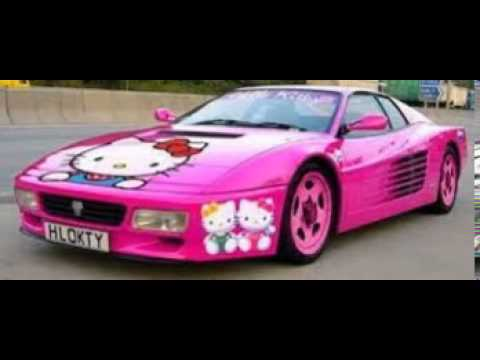 voiture de tuning hello kitty a vesoul youtube. Black Bedroom Furniture Sets. Home Design Ideas