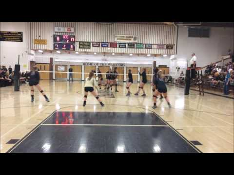 Erika Jones (Libero) - Fort Collins High School vs Arapahoe