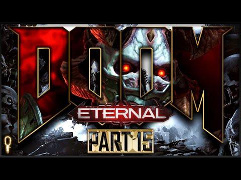 MARAUDER BOSS | Doom ETERNAL Nightmare | Let's Play Part 15 | VOD |