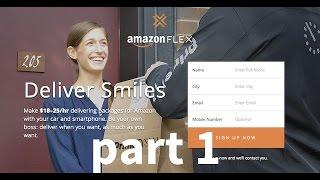 Amazon flex part 1 - Introduction Video