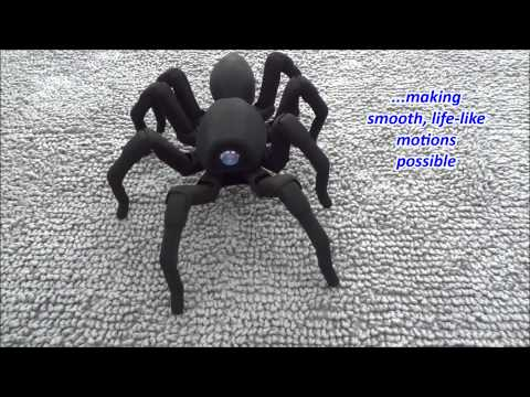 T8 the Bio Inspired 3D Printed Spider Octopod Robot   LATEST BREAKİNG NEWS !