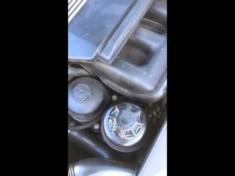2003 BMW 325i (E46) whine/whistle at idle