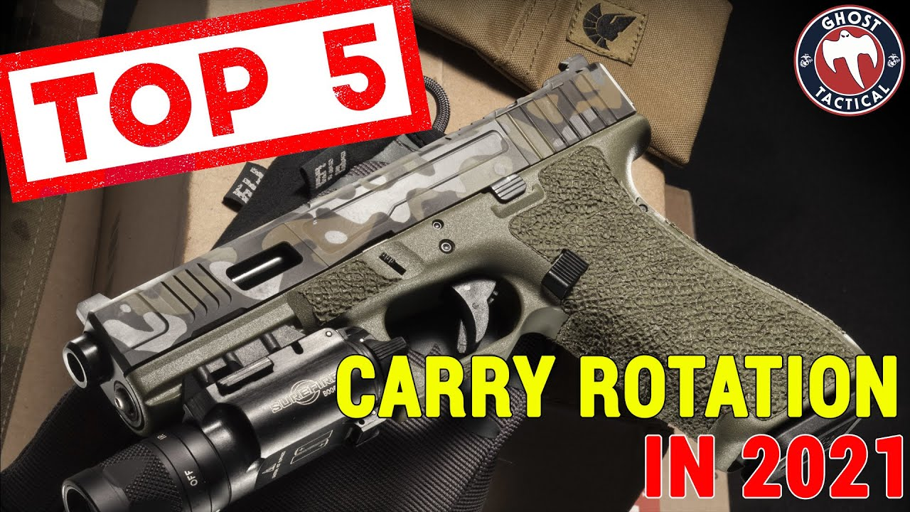 TOP 5 CONCEALED CARRY GUNS IN MY ROTATION (2021 Edition)