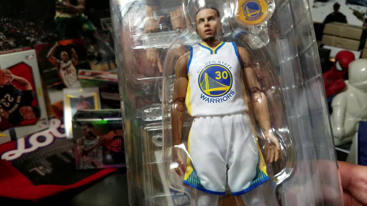 6ef93b531564 Steph Curry Enterbay Motion Masterpiece series 1 - YouTube