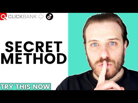 """New """"Secret"""" Clickbank Free Method For Complete Beginners (Try This Now)"""