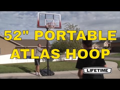 Lifetime Atlas Portable Basketball Hoop 1558 52