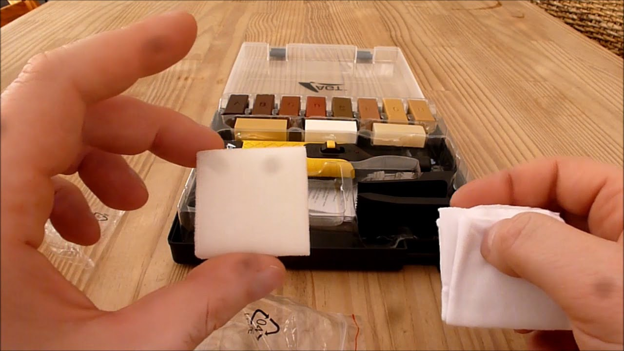 Fußboden Reparieren ~ Fußboden laminat parkett reperatur set selber reparieren youtube