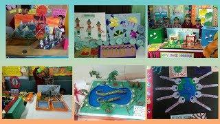 School project craft || School exhibition ideas || Craft ideas for children ||