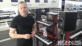 Roland JD XA Synthesizer Demo First 8 Factory Preset Sounds
