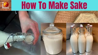 How to make Sake at Home (6 Liters)