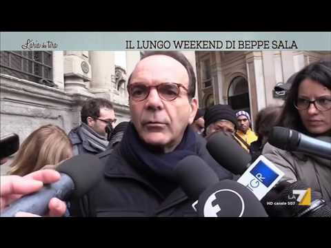 Il lungo weekend di Beppe Sala
